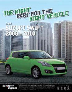 Suzuki Swift 2008-2010 | Ashdown-Ingram